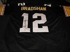Terry Bradshaw Pittsburgh Steelers Signed Reebok Jersey PSA