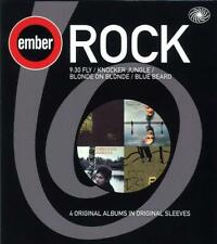 EMBER ROCK 4CD BOX 9.30 FLY / KNOCKER JUNGLE / BLONDE ON BLONDE / BLUE BEARD NEW