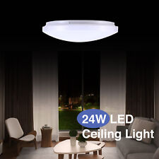 24W Round LED Ceiling Down Light Round Flush Mount Fixture Bedroom Kitchen Lamp