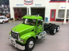 1/64 FIRST GEAR LIME GREEN MACK GRANITE DAY CAB CHASSIS
