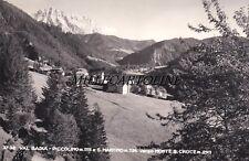 VAL BADIA: PICCOLINO e S. MARTINO  verso Monte S. Croce   1955