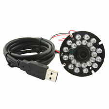 1080P HD USB Camera Module 24IR LED Night Vision CMOS MJPEG 30fps/60fps/120fps