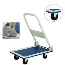 150Kg Heavy Duty Folding Trolley Cart Platform Flat Barrow Sack comfortable DCUK