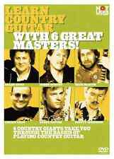 """""""LEARN COUNTRY GUITAR WITH 6 GREAT MASTERS!"""" INSTRUCTION DVD NEW SEALED ON SALE!"""