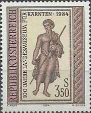 Timbre Arts Autriche 1609 ** lot 12169