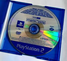 PROMO Singstar Party PS2. Sony PlayStation 2 PAL Promotional Disc Sing Star