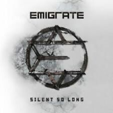 EMIGRATE Silent so long 11-track full album CD 2014  Mexican edition ! Rammstein