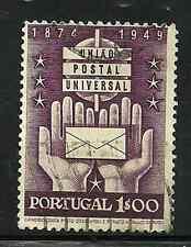 PORTUGAL 1949 USED STAMP - 75th ANNIVERSARY OF U.P.U.