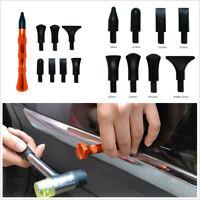 9 Pcs Car Knockdown Hail Removal Dent Repair Tool with Alloy Flattening Pen Kit