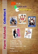 Pierre Richard. DVD Collection 4. Français.  NO SUBTITLES