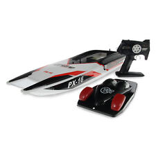 "2.4G 30"" STORM STEALTH PX-16 RACING RADIO REMOTE CONTROL RACING SPEED BOAT 1/16"