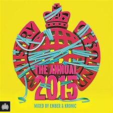 MINISTRY OF SOUND The Annual 2015 3CD NEW Mixed By Ember & Kronic Digipak