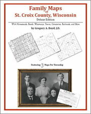Family Maps St. Croix County Wisconsin Genealogy Plat