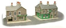 Metcalfe PN117 Card- Stone Corner Shop & Pub (N) Railway Model