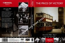 THE PRICE OF VICTORY. LIFE IN THE 50s-PART 1. UNSEEN ARCHIVE FILM ON DVD. NEW.