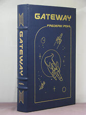 signed by 2(author,artist), Gateway by Frederik Pohl,Easton Press,5 award winner