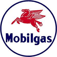 MOBIL GAS  VINYL DECAL STICKER (A1512) 4 INCH
