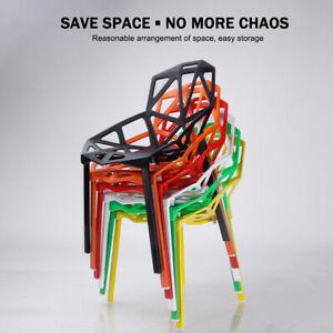 Set Of 4 Artiss Dining Chairs Garden Outdoor Chair Replica Plastic Cafe Backrest