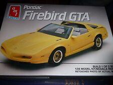 AMT 1992 PONTIAC FIREBIRD GTA 1/25 Model Car Mountain KIT 2n1 OPEN
