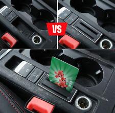 Adatto per VW Golf 7 GTI mk7 AUTO titolare della carta scatola di immagazzinaggio moneta slot Bin inserto trim