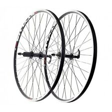 28'' Rear Wheel Road Bicycle Wheel Rodi Stylus, 8-9 speed, Black
