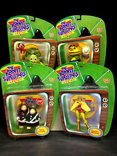 2000 LIVING TOYZ ART ASYLUM THE KROFFT SUPERSTARS 5 FIGURE SET H.R. PUFNSTUF D41
