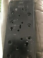 Black Vintage 178A Original Coin Phone Back Wall Plate Western Electric