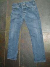 Mens Levis 501 XX blue straight leg jeans    W 32''    L 29''