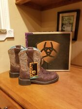 New Ariat Fat Baby Boots Size 6.5