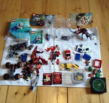 Joblot Of Lego Spare Parts Star Wars Figure Lego Racers Aqua Raider 7771 Bioncle