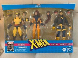 Marvel Legends X-Men Jean Grey, Cyclops, Wolverine Love Triangle 3 pack NEW