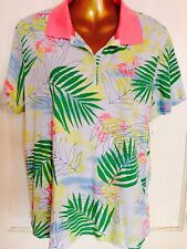 Women's golf shirt size Xl Classic Sport Polo Ib diffusion Performance Palms Wow