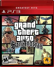 Ps3 Grand Theft Auto San Andreas, Brand New & Sealed