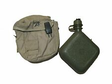 US ARMY Military 2qt Desert Tan Canteen Utility GP General Purpose Pouch & Sling