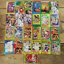 50 X Sailor Moon Anime Holographic sticker Cards. Purchased In Japan 2004