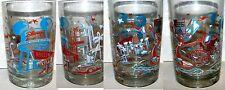 Walt Disney World MGM 25th Anniversary Glass from Mcdonald's MINT UNUSED w bag