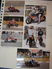 Photo Collage Honda NS500 / Cagiva 500 1984/87 Didier de Rdigues (BEL) 7x