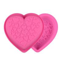 Silicone Loving Small Heart Shape Cake Mold Baking Tools Cake Decorating Moulds