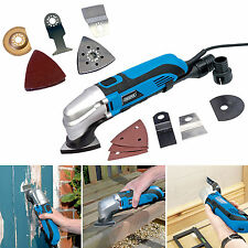 Draper 250w Oscillating Multi Function Sander Cutter Tool 34pc Accessories Kit
