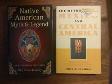 2 books: Native American Myth & Legend; & Mythology of Mexico & Central America