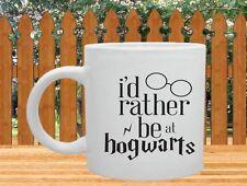I'd rather be at Hogwarts Mug - Harry Potter Inspired -11 oz. Coffee Mug