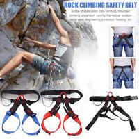 Klettergurt Sitzgurt Sicherheitsgurtverstellbare Kletterset für Bergsteigen