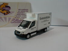 "Herpa 093323 - Mercedes-Benz Sprinter Kühlkoffer "" ChaterWay "" in weiß 1:87"