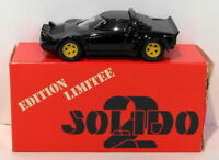 Solido Models 1/43 Scale Diecast 73 - Lancia Stratos - Black