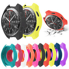 For Samsung Gear S3 S2 Silicone Watch Case Cover Protector Bumper Accessory