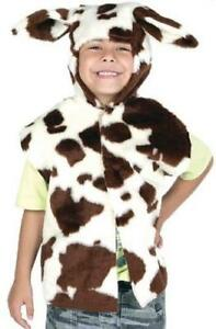 Farm Cow Tabard Kids Fancy Dress Animal Book Week Character Child Costume Outfit