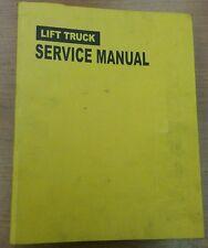 Doosan Lift Truck Service Manual for BC15-20T, SB2161E01