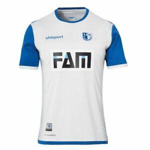 Uhlsport 1.FC Magdeburg Trikot weiß Auswärts Away 2018/2019 Erwachsene