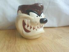 Taz Tasmanian Devil 3D Novelty Mug 1995 Applause