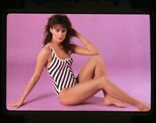 Catherine Mary Stewart Sexy barefoot swimsuit pin up Original 35mm Transparency